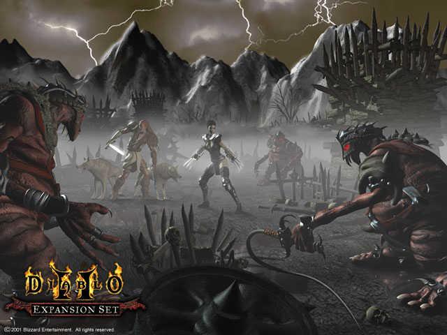 История серий Diablo - История серии Diablo - Diablo 2 - Каталог ...